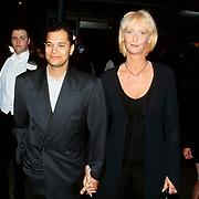Premiere Godzilla Amsterdam, John Jones Jr. en zijn vrouw Marleen