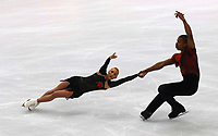 Photo: Catrine Gapper.<br /> Winter Olympics, Turin 2006. Figure Skating, Pairs, Short Program. 11/02/2006.