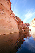 Lake Powell and the Glen Canyon National Recreation area Arizona, USA