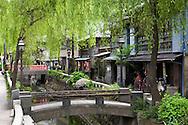 Historic Perry Street of Shimoda Japan.