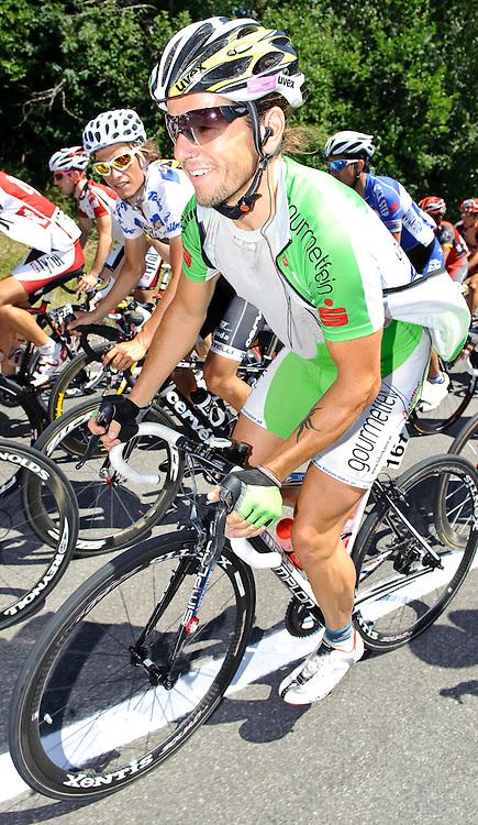 09.07.2010, AUT, 62. Österreich Rundfahrt, 6. Etappe, Deutschlandsberg-Laxenburg, im Bild Gerhard Trampusch (AUT, Arbö-Gourmetfein), EXPA Pictures © 2010, PhotoCredit: EXPA/ S. Zangrando / SPORTIDA PHOTO AGENCY