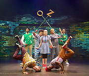 Zoo Nation's Groove On Down the Road<br /> press photocall at the Queen Elizabeth Hall, Southbank, London, Great Britain <br /> 4th August 2014 <br /> <br /> Mikey Ureta<br /> Jaih Betote Dipito Akwa<br /> Arizona Snow - Dorothy<br /> Mike McNeish<br /> Corey Culverwell<br /> Dylan Mayoral<br /> Annie Edwards<br /> Chante Simpson<br /> William Pascue<br /> Steve Pascua<br /> <br /> <br /> Photograph by Elliott Franks <br /> Image licensed to Elliott Franks Photography Services