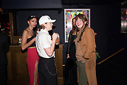 ELLA LETANG, BRENNA HORROX, NOAH HARTNETT, PHILLIPA HORAN, The launch of HI-NOON a photography exhibition at Tramp, London. 29 October 2019