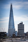 The Shard, the tallest building in the Eurpoean Union, London, UK.