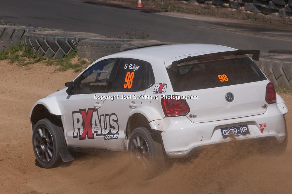 Sean Bolger - VW Polo - Rallycross Australia - Rnd 1 - February 26th 2017. MARULAN DIRT & TAR CIRCUITS, MARULAN, NSW
