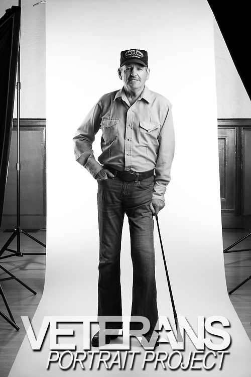 J.H. Shinn was a sergeant in the Marine Corps from 1964 to 1968 and served as a rifleman in Vietnam. He lost his left foot in combat. <br /> <br /> Veterans Portrait Project<br /> Pleasanton, California