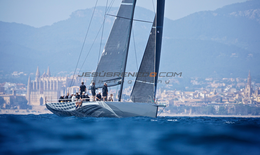 Judel Vrolijk 72, Ran V , first sail trials in Mallorca,Spain.© Jesús Renedo