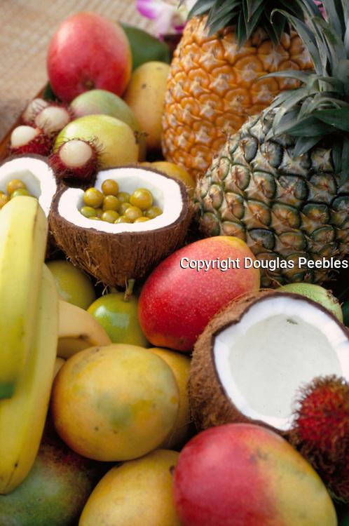 Tropical Fruit at Luau<br />