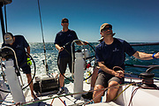 2019 NHYC Cabo Race aboard the J/121 Blueflash, from Newport Harbor CA to Cabo San Lucas MX. Distance raced: 913 nautical miles.