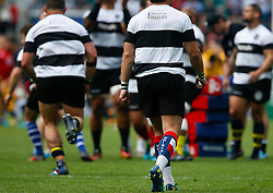 Rhodri Williams of Barbarians socks - Mandatory by-line: Ryan Hiscott/JMP - 27/05/2018 - RUGBY - Twickenham Stadium - London, England - England v Barbarians - Quilter Cup