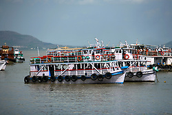 INDIA MUMBAI 28MAY10 - Boats in Colaba, Mumbai, India...jre/Photo by Jiri Rezac..© Jiri Rezac 2010