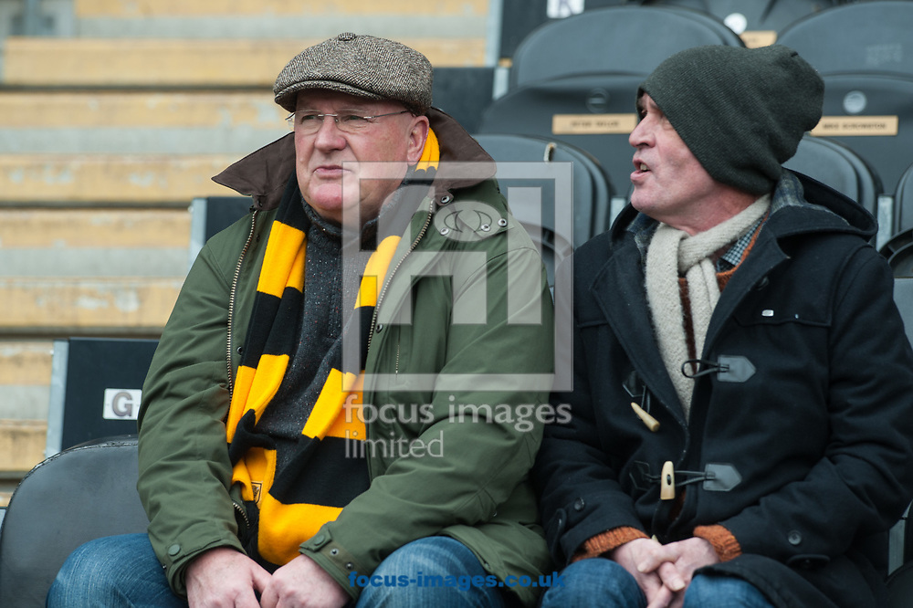 Hull City fans prior to the Sky Bet Championship match between Hull City and Queens Park Rangers at the KCOM Stadium, Hull<br /> Picture by Matt Wilkinson/Focus Images Ltd 07814 960751<br /> 07/04/2018