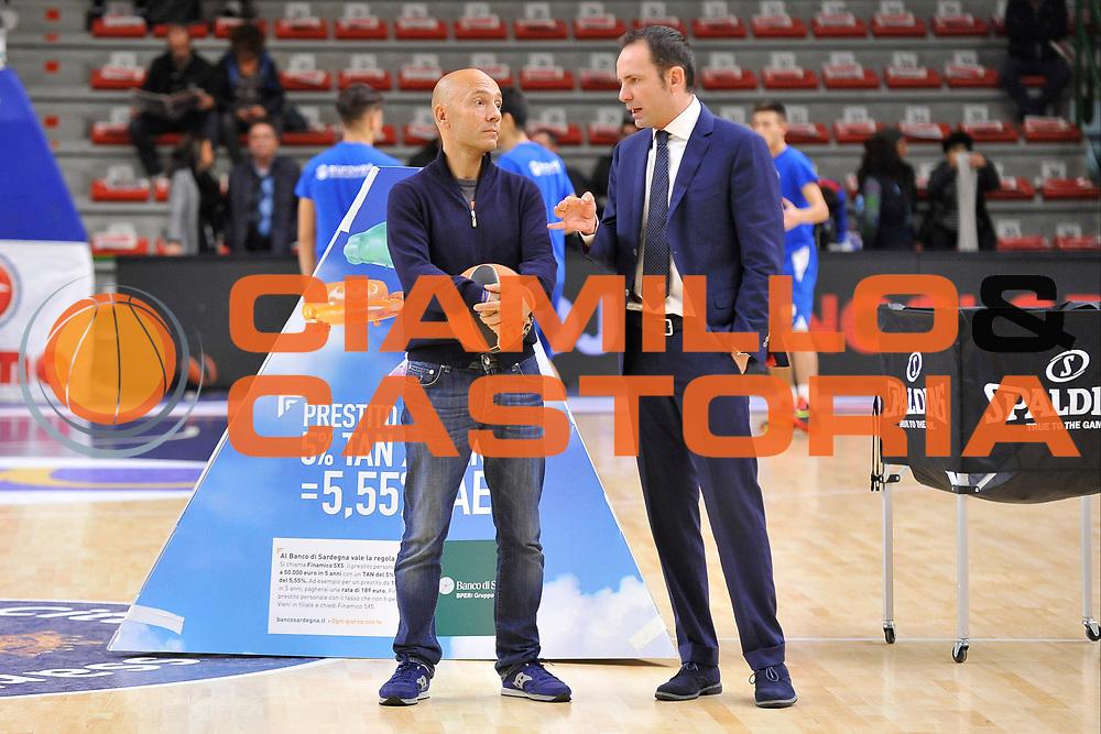 DESCRIZIONE : Eurolega Euroleague 2015/16 Group D Dinamo Banco di Sardegna Sassari - Darussafaka Dogus Istanbul<br /> GIOCATORE : Stefano Sardara - Paolo Citrini<br /> CATEGORIA : Before Pregame<br /> SQUADRA : Dinamo Banco di Sardegna Sassari<br /> EVENTO : Eurolega Euroleague 2015/2016<br /> GARA : Dinamo Banco di Sardegna Sassari - Darussafaka Dogus Istanbul<br /> DATA : 19/11/2015<br /> SPORT : Pallacanestro <br /> AUTORE : Agenzia Ciamillo-Castoria/C.Atzori