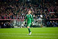 04.09.2015. Copenhagen, Denmark. <br /> The Danish goalkeeper Kasper Schmelchel during their UEFA European Champions qualifying round match at the Parken Stadium. <br /> Photo: &copy; Ricardo Ramirez.