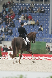 Cuypers Carl - Hofgut Liederbach's Barclay<br /> World Equestrian Games Aachen 2006<br /> Photo © Hippo Foto