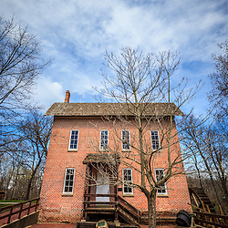 Wood's Grist Mill in Deep River County Park.  The Wood's Grist Mill is in Hobart Indiana was built by John Wood in the early 1800's.