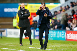 Shrewsbury Town manager Sam Ricketts - Mandatory by-line: Robbie Stephenson/JMP - 26/01/2019 - FOOTBALL - Montgomery Waters Meadow - Shrewsbury, England - Shrewsbury Town v Wolverhampton Wanderers - Emirates FA Cup fourth round