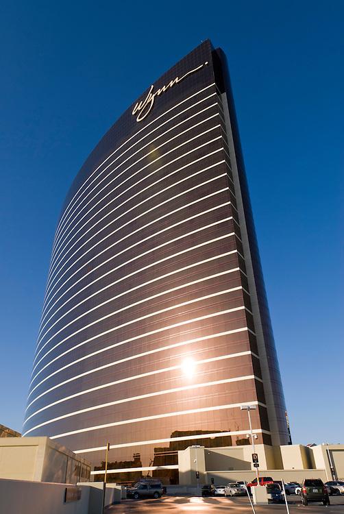 Hotel Wynn Las Vegas, Casino und Hotel am Las Vegas Strip in Las Vegas, Nevada. Es wurde vom Immobilienmogul Steve Wynn finanziert   | Hotel Wynn Las Vegas, Steve Wynn Hotel    |
