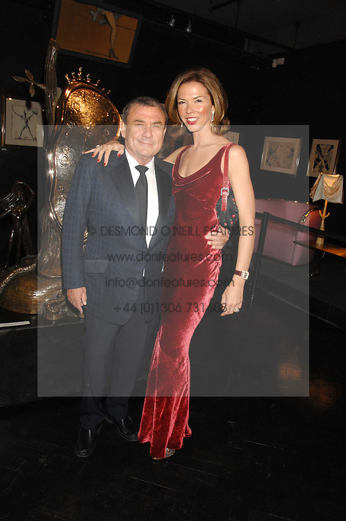 SOL &amp; HEATHER KERZNER at Andy &amp; Patti Wong's Chinese new Year party held at County Hall and Dali Universe, London on 26th January 2008.<br />