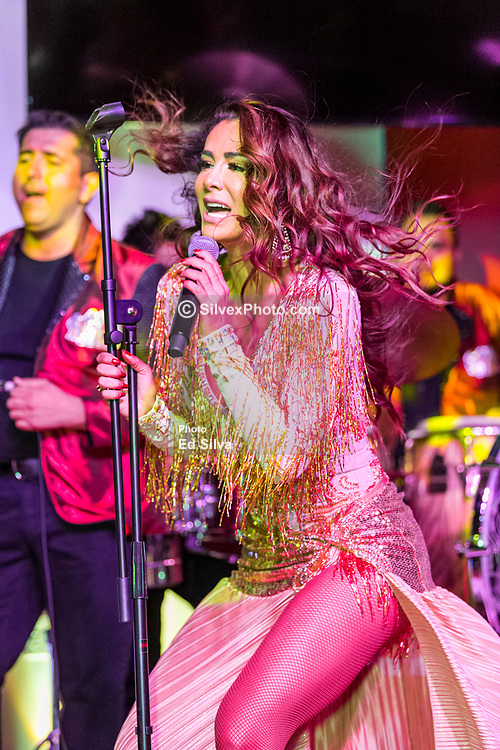 SANTA ANA, CA - JUNE 8   Mexican singer Ninel Conde performs live on stage in downtown Santa Ana at Hectors Night Club. 2017 June 8.  Byline, credit, TV usage, web usage or link back must read SILVEXPHOTO.COM. Failure to byline correctly will incur double the agreed fee. Tel: +1 714 504 6870.