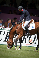 Clee Joe, (GBR), Utamaro D Ecaussines<br /> Furusiyya FEI Nations Cup presented by Longines<br /> Longines Jumping International de La Baule 2015<br /> © Hippo Foto - Dirk Caremans<br /> 15/05/15