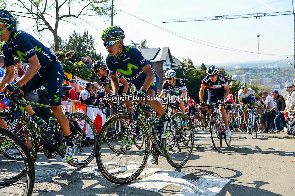 Quintana Rojas Nairo Alexander - Movistar - 22.04.2015 - La Fleche Wallonne<br />Photo : Sirotti / Icon Sport<br />  *** Local Caption ***