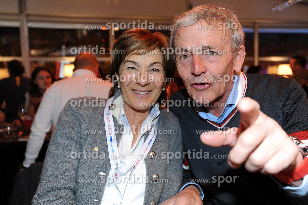 11.02.2014, Austria Tirol House, Krasnaya Polyana, RUS, Sochi, 2014, im Bild EDITH, EGON ZIMMERMANN // EDITH, EGON ZIMMERMANN during the Olympic Winter Games Sochi 2014 at the Austria Tirol House in Krasnaya Polyana, Russia on 2014/02/12. EXPA Pictures © 2014, PhotoCredit: EXPA/ OeOC/ Erich Spiess
