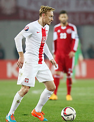 14.11.2014, Boris Paitschadse Nationalstadion, Tiflis, GEO, UEFA Euro Qualifikation, Georgien vs Polen, Gruppe D, im Bild SEBASTIAN MILA // during the UEFA EURO 2016 Qualifier group D match between Georgia and Poland at the Boris Paitschadse Nationalstadion in Tiflis, Georgia on 2014/11/14. EXPA Pictures &copy; 2014, PhotoCredit: EXPA/ Newspix/ Szymon Gorski<br /> <br /> *****ATTENTION - for AUT, SLO, CRO, SRB, BIH, MAZ, TUR, SUI, SWE only*****