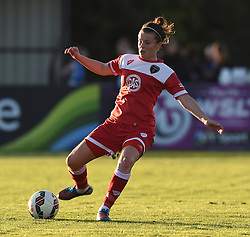 Bristol Academy's Hayley Ladd - Mandatory by-line: Paul Knight/JMP - Mobile: 07966 386802 - 27/08/2015 -  FOOTBALL - Stoke Gifford Stadium - Bristol, England -  Bristol Academy Women v Oxford United Women - FA WSL Continental Tyres Cup