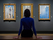Paintings of Rouen Cathedral - The Credit Suisse Exhibition: Monet & Architecture a new exhibition in the Sainsbury Wing at The National Gallery.