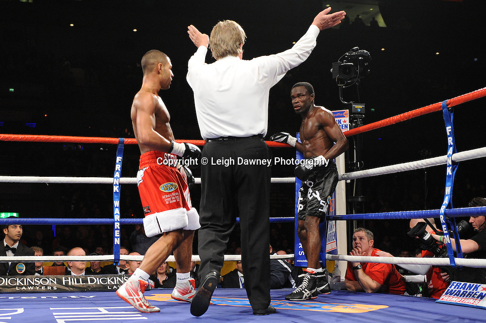 "Kell Brook defeats Phillip Kotey at the Echo Arena, Lverpool,11th December 2010,Frank Warren.tv Promotions ""Return Of The Magnificent Seven"" © Photo Leigh Dawney"