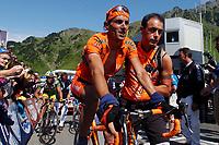CYCLING - TOUR DE FRANCE 2004 - STAGE 12 - CASTELSARRASIN > LA MONGIE - 16/07/2004 - PHOTO: FRANCK FAUGERE / DIGITALSPORT    <br /> IBAN MAYO (ESP) / EUSKALTEL-EUSKADI