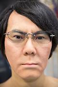 Roboten Geminoid HI-5. Osaka University, Japan<br /> <br /> The robot Geminoid HI-5. Osaka University, Japan<br /> <br /> Photographer: Christina Sj&ouml;gren<br /> Copyright 2018, All Rights Reserved