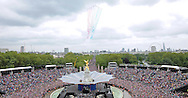"QUEEN DIAMOND JUBILEE.The massed crowds around Buckingham Palace that turned out to witness the procession and flypast in celebration of the Queen's Diamond Jubilee_5th June 2012.Mandatory Credit Photo: ©J Doak/NEWSPIX INTERNATIONAL..**ALL FEES PAYABLE TO: ""NEWSPIX INTERNATIONAL""**..IMMEDIATE CONFIRMATION OF USAGE REQUIRED:.Newspix International, 31 Chinnery Hill, Bishop's Stortford, ENGLAND CM23 3PS.Tel:+441279 324672  ; Fax: +441279656877.Mobile:  07775681153.e-mail: info@newspixinternational.co.uk"