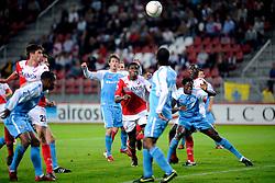 29-08-2009 VOETBAL: FC UTRECHT - SPARTA: UTRECHT<br /> Utrecht wint met 2-0 van Sparta / Francis Dickoh<br /> ©2009-WWW.FOTOHOOGENDOORN.NL