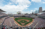A general view of Target Field on July 5, 2014 in Minneapolis, Minnesota.  Photo by Ben Krause