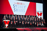 Swans 2015 Gurnsey Presentation night Hall of Fame Induction Dinner.