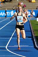 26.8.20112, Hiihtostadion, Lahti..Yleisurheilun Kalevan Kisat 2012. .Naisten 1500 m..Johanna Lehtinen - Joensuun Kataja