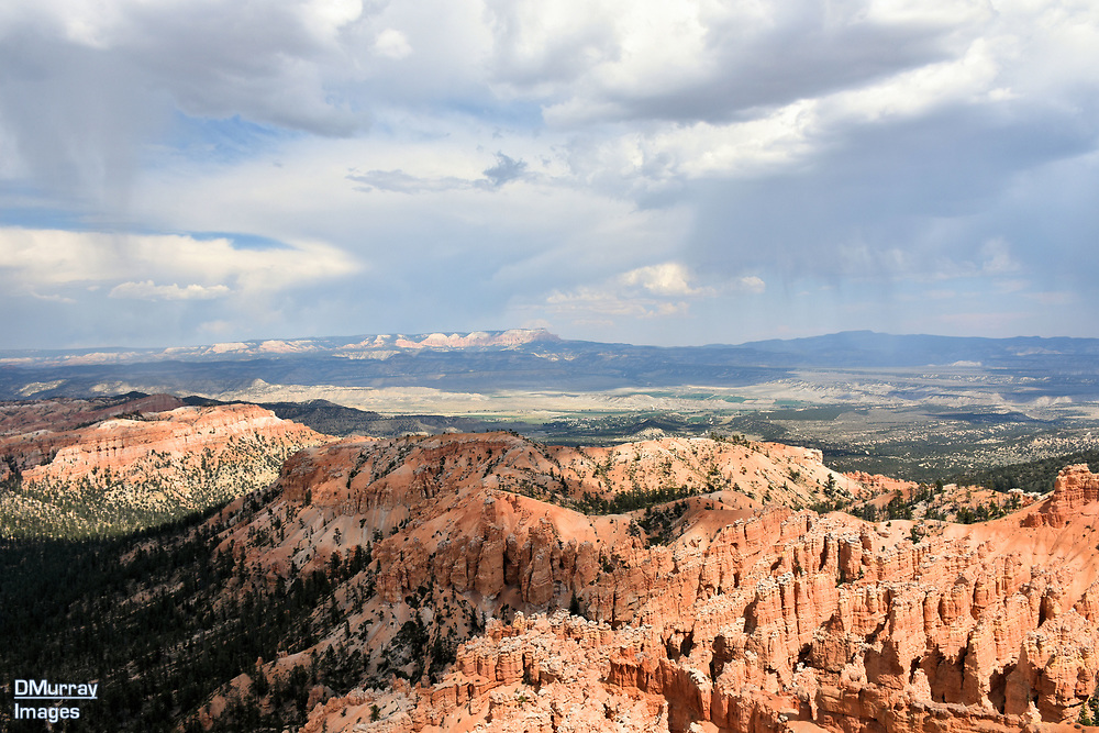 Rain Ahead, Bryce Canyon National Park, Utah, USA