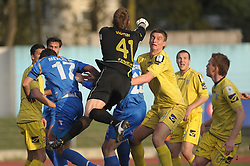 Jovan Vidovic of Domzale at football match of 30th Round of 1st Slovenian League between NK Hit Gorica and Domzale, on April 10, 2010, in Sportni park, Nova Gorica, Slovenia. (Photo by Foto Forma/ Sportida)