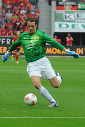 20.10.2012, BayArena, Leverkusen, GER, 1. FBL, Bayer 04 Leverkusen vs 1. FSV Mainz 05, 8. Runde, im Bild Torhueter Christian Wetklo ( FSV Mainz 05/ Freisteller ),, 20.10.2012, 1. Liga, 8. Spieltag, Leverkusen, Nutzungshinweis: EIBNER-PRESSEFOTO Tel: 0172 837 4655. EXPA Pictures © 2012, PhotoCredit: EXPA/ Eibner/ Thomas Thienel..***** ATTENTION - OUT OF GER *****