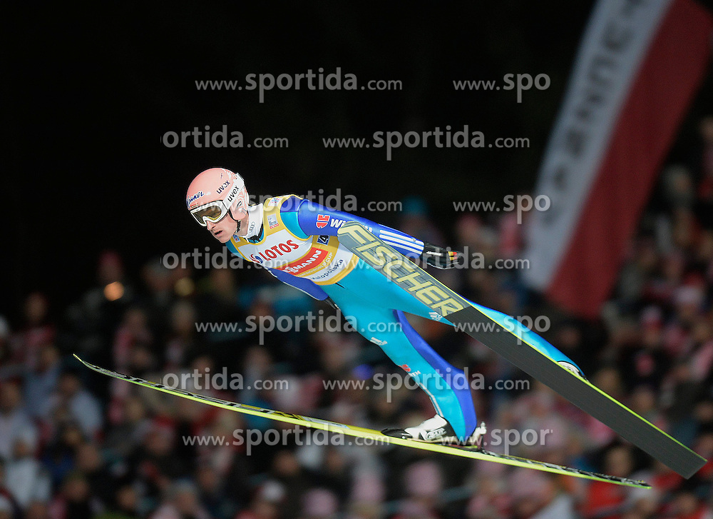 17.01.2015, Wielka Krokiew, Zakopane, POL, FIS Weltcup Ski Sprung, Zakopane, Herren, Teamspringen, im Bild Severin Freund // during mens Large Hill Team competition of FIS Ski Jumping world cup at the Wielka Krokiew in Zakopane, Poland on 2015/01/17. EXPA Pictures &copy; 2015, PhotoCredit: EXPA/ Newspix/ Irek Dorozanski<br /> <br /> *****ATTENTION - for AUT, SLO, CRO, SRB, BIH, MAZ, TUR, SUI, SWE only*****