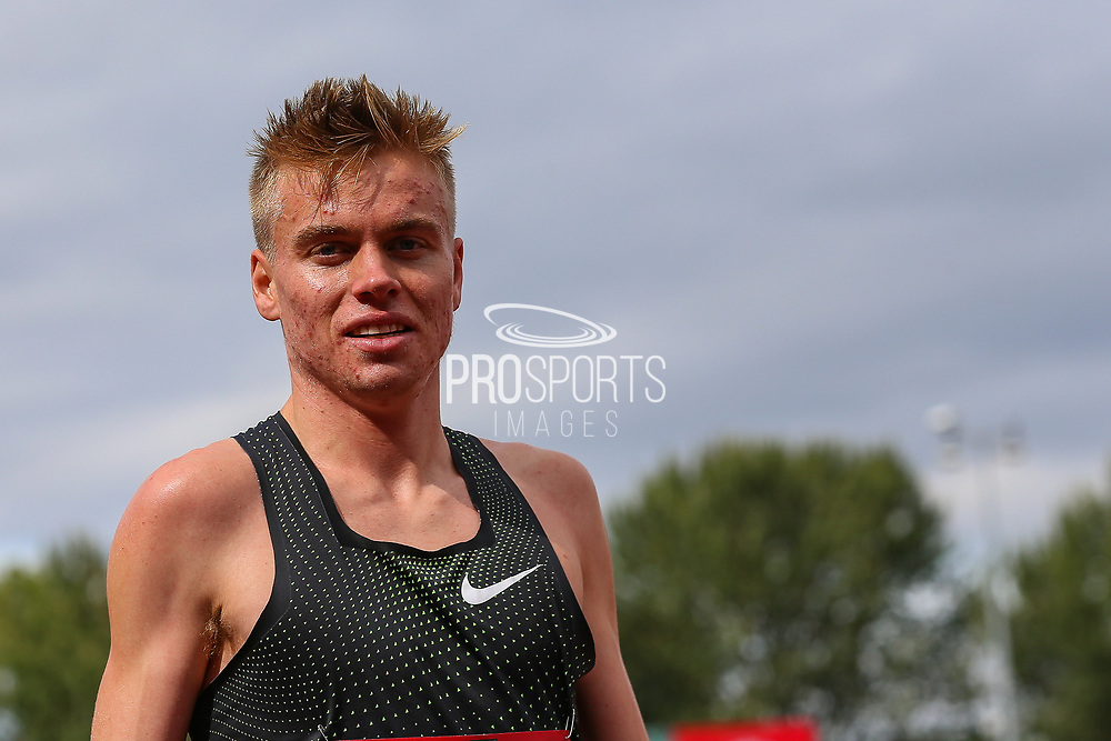 Stewart MCSWEYN of Australia, winner of the Men's 1 Mile during the Muller Grand Prix 2018 at Alexander Stadium, Birmingham, United Kingdom on 18 August 2018. Picture by Toyin Oshodi.