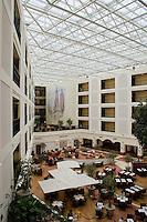 Inside the Sheraton Hotel in Krakow Poland