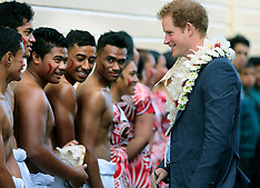 Auckland-Prince Harry visits Southern Cross School, Mangere