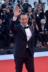 Stefano Accorsi attending the Vox Lux premiere during the 75th Venice Film Festival