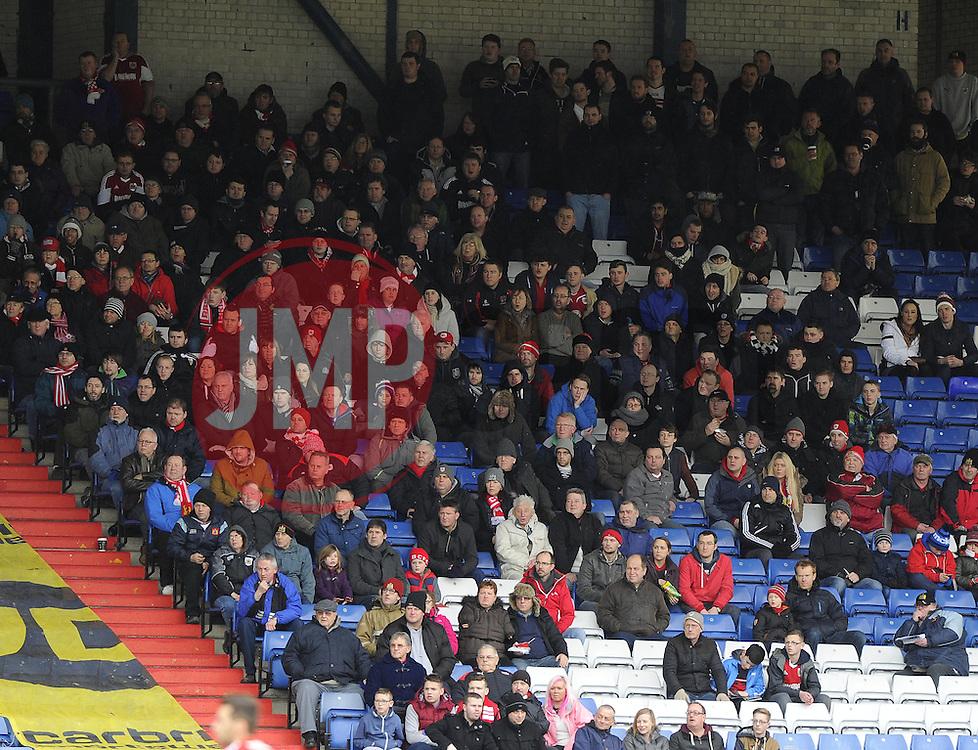 Fans - Photo mandatory by-line: Joe Meredith/JMP - Tel: Mobile: 07966 386802 08/02/2014 - SPORT - FOOTBALL - Oldham - Boundary Park - Oldham Athletic v Bristol City - Sky Bet League One