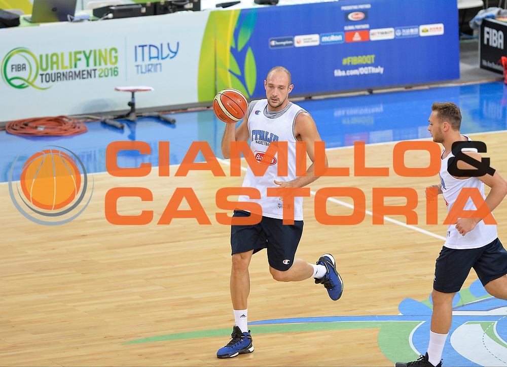 DESCRIZIONE: Torino FIBA Olympic Qualifying Tournament  Croazia Tunisia<br /> GIOCATORE: <br /> CATEGORIA: <br /> GARA: FIBA Olympic Qualifying Tournament Croazia Tunisia<br /> DATA: 06/07/2016<br /> AUTORE: Agenzia Ciamillo-Castoria