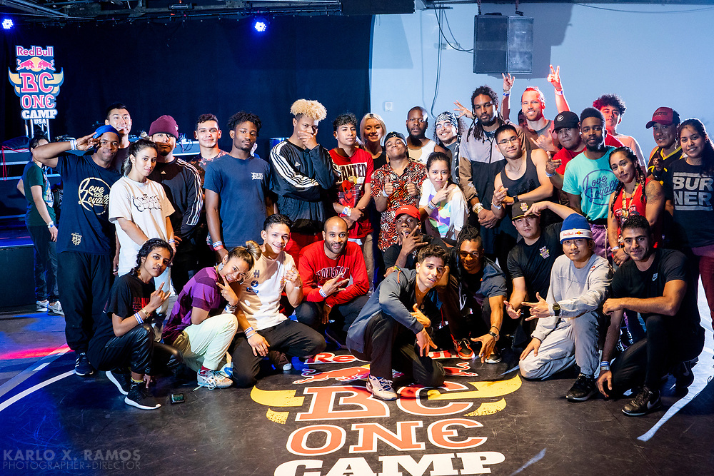 Participants during Red Bull BC One Camp Houston, TX May 19 2019