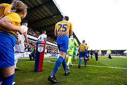 Ben Turner of Mansfield Town  walks out at The One Call Stadium - Mandatory by-line: Robbie Stephenson/JMP - 12/05/2019 - FOOTBALL - One Call Stadium - Mansfield, England - Mansfield Town v Newport County - Sky Bet League Two Play-Off Semi-Final 2nd Leg